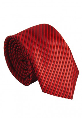 Striped Colour Slim Tie