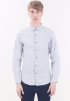 Smart Casual Pocket Long Sleeve Shirt-GRY