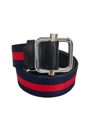 Fleece Ribbon Belt- (RED)