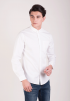 Oxford Long Sleeve Shirt- White