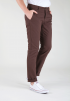 Slim Fit Chinos- Brown