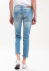 Slim Fit Light Washed Blue Jeans
