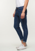 Casual Slim Fit Jeans- Blue