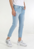 Ripped Details Jeans-Light Blue