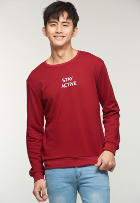 STAY ACTIVE Jumper- Maroon