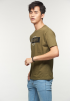 WHATEVER Graphic Tee- Army Green
