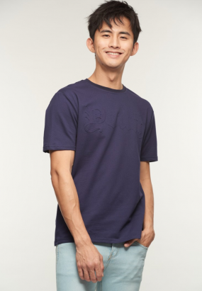 YOUTH Pop Up Tee- Navy