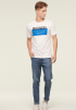 Discovery Print T-Shirt- White