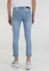 Knee Ripped Jeans- Light Blue