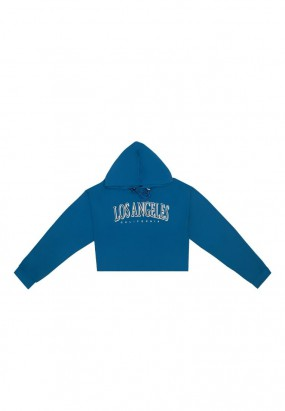 Los Angeles Hoodie Jumper- BLUE