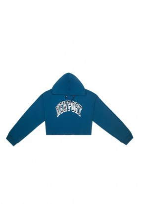 New Port Hoodie Jumper- BLUE