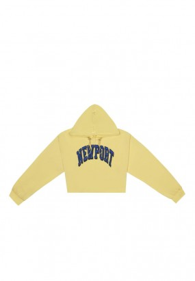 New Port Hoodie Jumper- YELLOW
