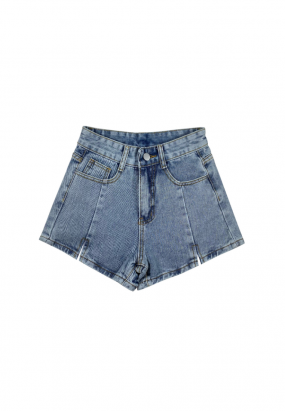 Classic Denim Short - Light Blue