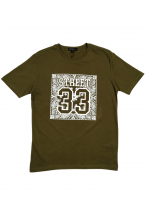 DRUM street 33 tee- army green