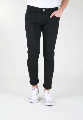 Slim Fit Jeans-Black
