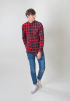 Check Shirt- RED