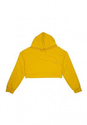 Comfy Colour Hoodie - YELLOW