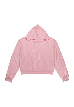 Colour Comfy Hoodie- PINK