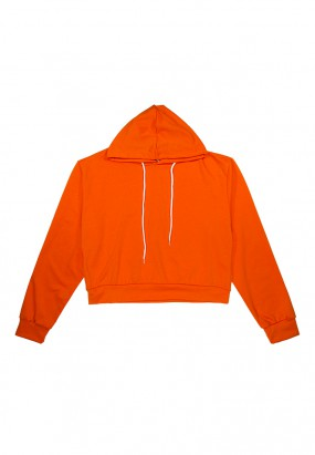 Colour Comfy Hoodie- ORANGE