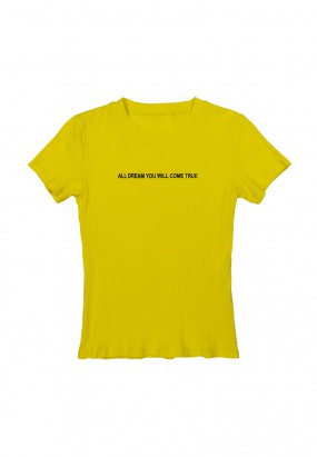 All Dream Tee- YELLOW