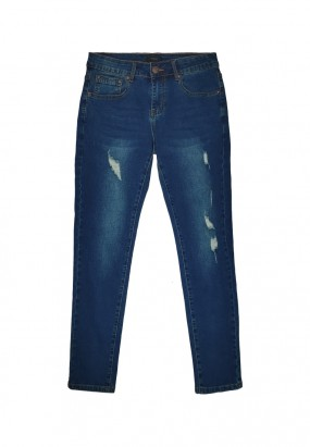 DRUM Denim Ripped Jeans- Blue