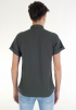 Casual Short Sleeve Shirt- Army Green